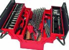 Metal tool box 65 pieces